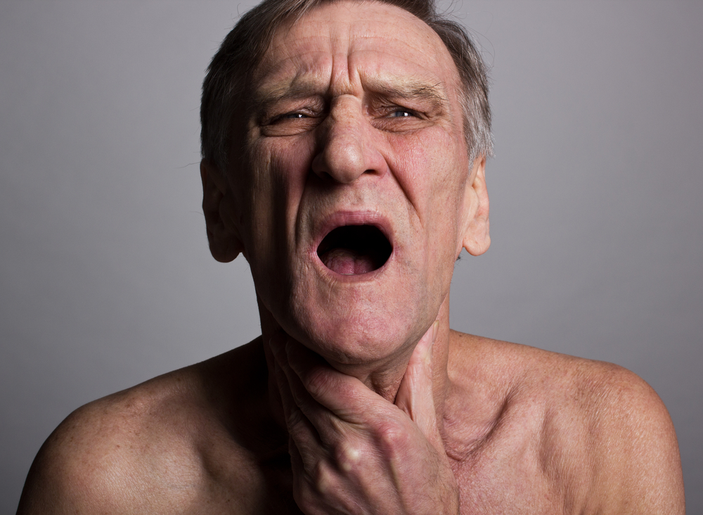 swallowing difficulties associated with sarcoidosis.